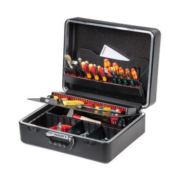 Werkzeugkoffer ABS 470 x 205 x 355 mm mit hoher B