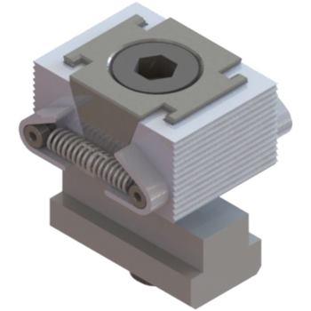 Keilspanner geriffelt inkl. Nutenstein 40 x 15 mm M 8