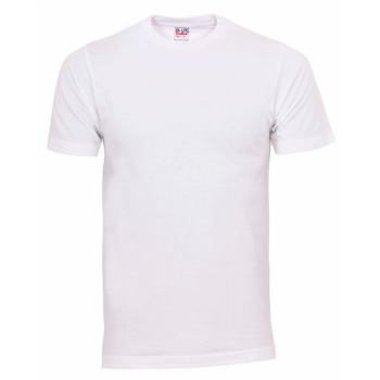 T-Shirt Basic weiß Gr. XL