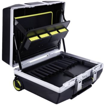 Werkzeugkoffer ToolCase fahrbar mit Rollen,