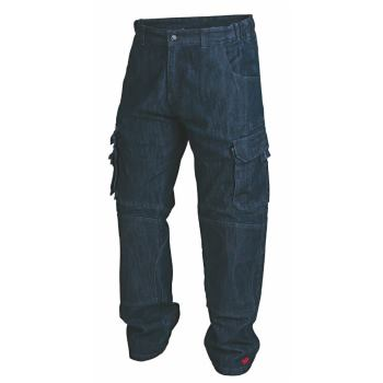 Cargohose denim Gr. 25