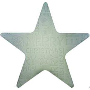 8SEASONS 62493L LED SHINING Star Merry Christmas