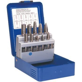 Schaftfräser Hartmetall-Frässtift ( 6mm Schaft ) 10-teilig Zahnung 6