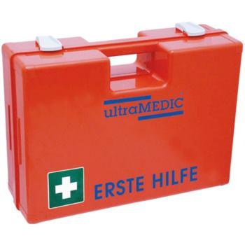 Erste-Hilfe-Koffer orange mit Füllung DIN 13169