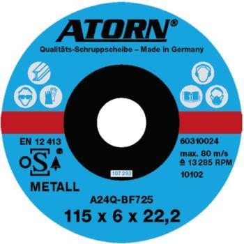 Schruppscheibe für Metall 115x6x22 mm Harte Scheib e