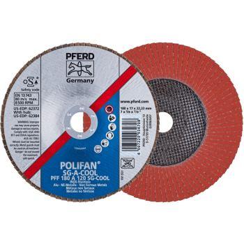 POLIFAN®-Fächerscheibe PFF 180 A 120 SG-COOL/22,23