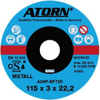 Trennscheibe für Metall 115x3x22 mm Universal Sche ibe