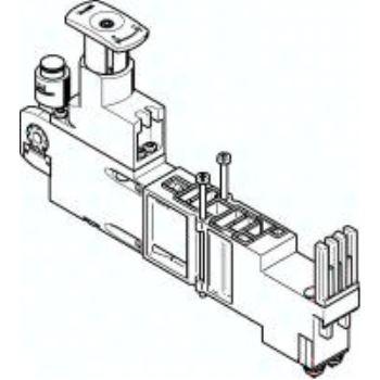 VMPA2-B8-R2C2-C-10 543343 Reglerplatte