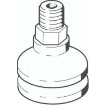 VASB-30-1/8-NBR 35412 Faltenbalg-Saugnapf