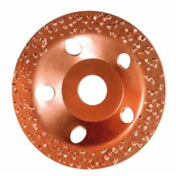 Hartmetalltopfscheibe, 115 x 22,23 mm, fein, schrä
