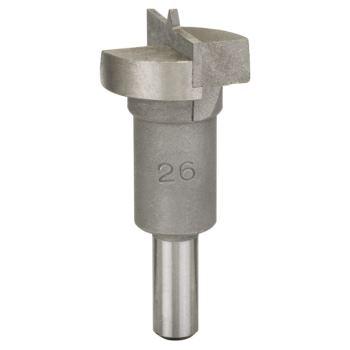 Scharnierlochbohrer Hartmetall, 26 x 56 mm, d 8 mm