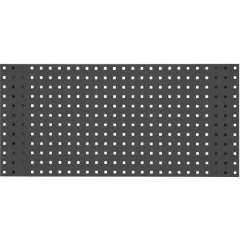 Lochplatte-schiefergrau, 500x450mm