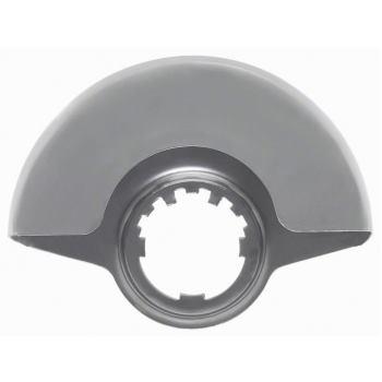 Schutzhaube mit Deckblech, 125 mm, passend zu PWS