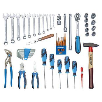 Werkzeugsortiment TOURING 49-tlg