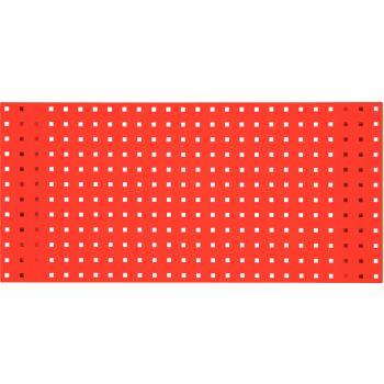 Lochplatte-verkehrsrot, 500x450mm