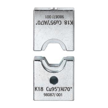 Sechskant-Crimpeinsatz K25/80