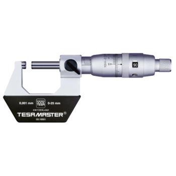 MASTER Abl. 1/1000 mm Messbereich 0- 25 mm mit Etu