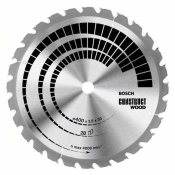 Kreissägeblatt Construct Wood, 450 x 30 x 3,8 mm,