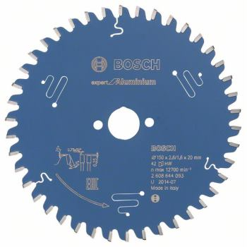 Kreissägeblatt Expert for Aluminium, 150 x 20 x 2,6 mm, 42