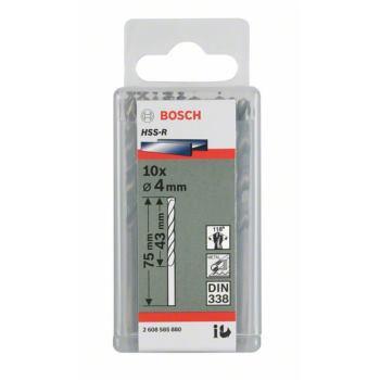 Metallbohrer HSS-R, DIN 338, 2,1 x 24 x 49 mm, 10e