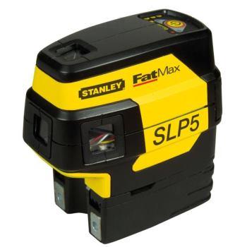 Punkt+Linienlaser SLP5, 5-Punkt, 3mm/15m