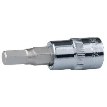 """3/8"""" CHROMEplus® Bit-Stecknuss Innensechskant, 6mm"""
