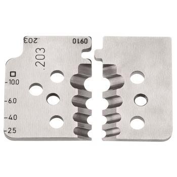 1 Satz Ersatzmesser für 12 12 10 mm