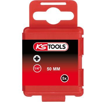 """1/4"""" Bit, 50mm, PZ0, 5er Pack 911.3348"""