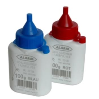 Farbpuder für Schlagschnurroller 100g