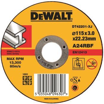 Standard Metall-Trennscheibe - flach DT42201