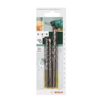 Betonbohrer-Set SDS-Quick, 3-teilig, 5,5 - 7 mm