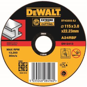 EXTREME Metall-Trennscheibe - flach DT43202