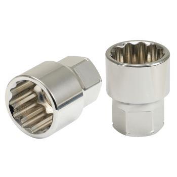 GEARplus® RINGSTOP-Stecknuss mit Bohrung, 17mm 503