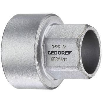 """Steckschlüsseleinsatz 1/2"""" kurz, 22 mm"""