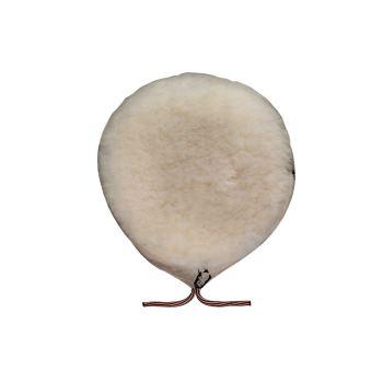 Lammfell-Polierhaube 180 mm mit Schnürzug