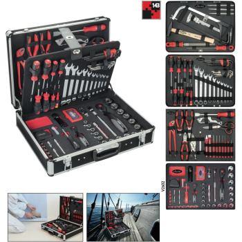 Werkzeugkoffer bestückt Werkzeugkasten V2542