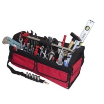 Textiltasche 2-TXL, komplett, mit Sanitär-Heizung- Werkzeugpaket 2, 47-teilig