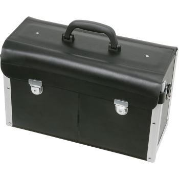 Leder-Werkzeugkoffer, L420xB150xH250mm 850.0310