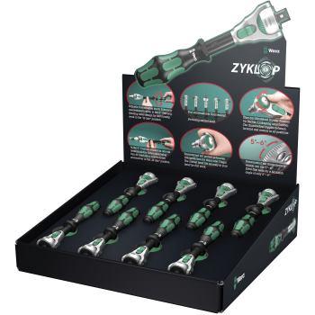 "8 x Zyklop 1/4"" Knarre 8000 A/8 Thekendisplay Zykl"