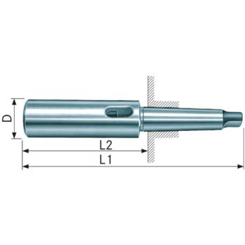 Verlängerungshülse MK 2/1 DIN 2187 gehärtet