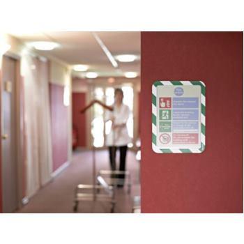 Sichthülle magnetisch DIN A4 silber 2 Stück 242 x