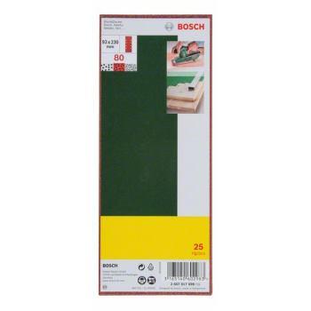 Schleifblatt-Set für Schwingschleifer, 25-teilig,