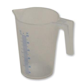 Kunststoff-Flüssigkeitsmessbecher Typ J-PP 50 0,
