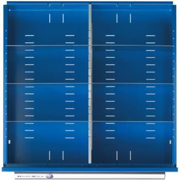 Schubladen-Einteilung 1/2 Teilung