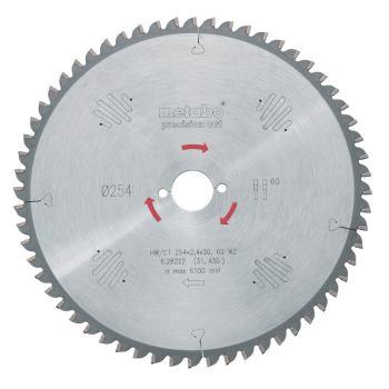 Kreissägeblatt HW/CT 250 x 30 x 2,4/1,8, Zähnezahl