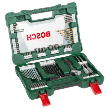 Bitsatz Bohrerset V-Line Box 83-teilig