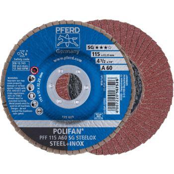 POLIFAN®-Fächerscheibe PFF 115 A 60 SG/22,23