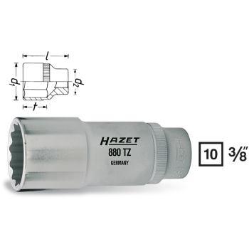 Steckschlüsseleinsatz 21mm 3/8 Inch DIN 3124 lang