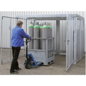 Gasflaschen-Container Typ GFC-M 3 LxBxH 2400x1500x