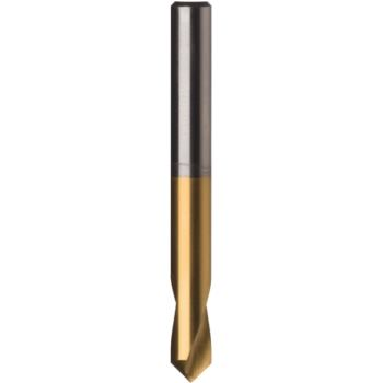 NC-Anbohrer HSSE-TiN 90 Grad 5x60 mm mit Zylinderschaft HA